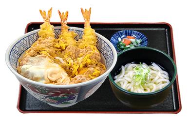 名古屋海老天丼ミニうどんセット