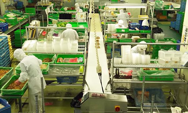 弁当・惣菜工場